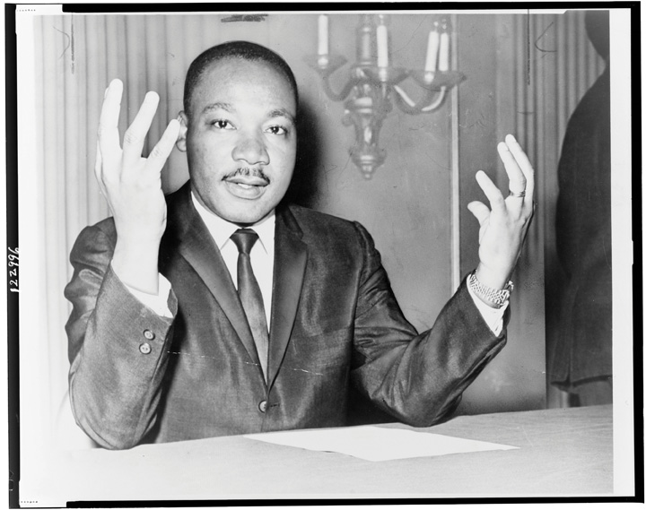 Martin luther king charismatic leadership